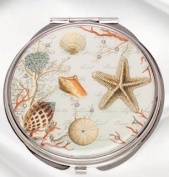 Popular Creations Sea Breeze Compact Mirror
