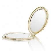 Hearts Gold Mirror Compact Model No. M-119