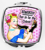 Somebody has to be the Cutest! Compact Mirror