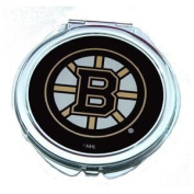 Boston Bruins Ladies Compact Mirror w/ Floral Design