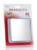 Brandon Femme 10x Square Suction Mirror, 10.2cm