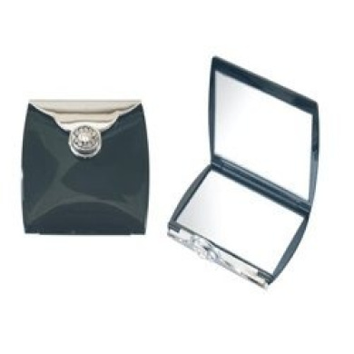 3X Crystalized Compact Mirror Black