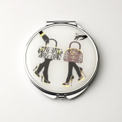 Bags & Shoes Compact Mirror