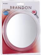 Brandon Femme 5X Suction Cup Mirror, 15.2cm Clam Shell