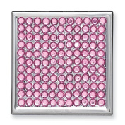 Rose Crystal Compact Mirror