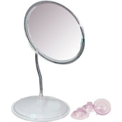 Vanity or Wall Mount Gooseneck Mirror