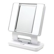 OttLite Makeup Mirror B84003 - 5x and 1x dual-sided magnification