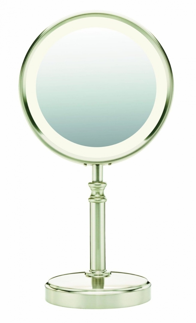 4152a438126d Conair BE116T Double-sided Lighted Mirror Perp Fluorescent Lighting