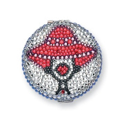 Red Hat. Crystal Compact Mirror