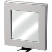 B Smart Shower Mirror (Satin Silver)