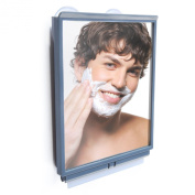 Fogless Shower Mirror with Squeegee by ToiletTree Products. Great for Travellers and College Dorm Students. Guaranteed Not to Fog.