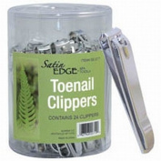 Satin Edge Toenail Clippers In A Container