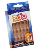 Broadway Fashion Diva Colour Changing Nail Kit Short Length # 54364 BCFD03