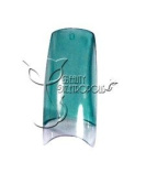 Translucent Teal French Nail Tips