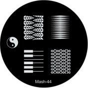 MASH Nail Art Stamp Stamping Image Plate No 44