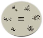 Konad Stamping Nail Art Image Plate - M7
