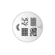 Konad Stamping Nail Art Image Plate M63