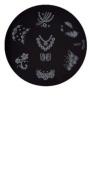 Konad Stamping Nail Art Image Plate - M77