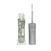 Nubar Nail Art Striper - Silver Glitter