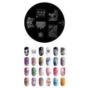 Konad Stamping Nail Art Image Plate - M69