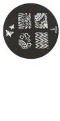 Konad Stamping Nail Art Image Plate - M78