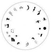 Design Wheel - Halloween Nail Master Stencil Shield