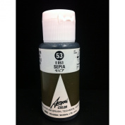 Aeroflash Colour (Sepia E-053) 1 Bottle of 35ml From Holbein Japan