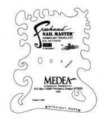 Nail Master 1 Stencil Shield Nail Art Curves