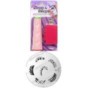 Konad Stamping Nail Art Image M80 + 2way Stamper and Scraper