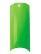 Cala Professional Glitter Tips in Neon Green # 87-556 + Free A-viva Eco Nail File