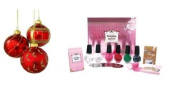 Konad Ruby Set Complete/Image Plates/Polishes+ More + Holiday A-viva Manicure Kit