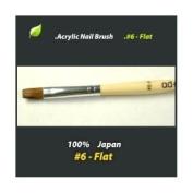 Decori Adoro Acrylic Nail Brush #6 Flat