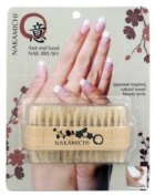 Double-sided Wooden Hand and Nail Brush for Manicure & Pedicure