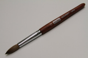 Kyoko Finest 100% Pure Kolinsky Brush, Size # 12, Made in Japan, Original Wood Handle