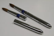 Ma Cherie Finest 100% Pure Kolinsky Brush, Size # 16, France, Reversible Steel Metal Handle