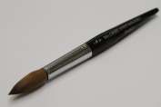 Ma Cherie Finest 100% Pure Kolinsky Brush, Size # 22, France, Black Marble Handle