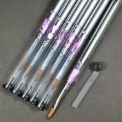 Acrylic Brush (No.8) x 6 pcs CODE