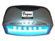Brand New VOGUE Professional ® Powerful & Large Size 54 watts 2 hands DRY & CURE FAST in Seconds Shellac, Axxium, Regular Gel Professional UV Curing Powerful Lamp 54 Watts, Light Nail Dryer, 3 Step Timer, Latest IC Technology, New Model 2013 For Spa Nails
