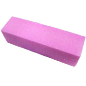 Pink Buffer Buffing Sanding Block File Manicure Pedicure For Nail Art
