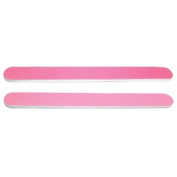 DL Professional Dark Pink/Light Pink Nail File 100/180 Grit