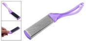 Clear Purple Double Sides Foot File Callus Remover Tool