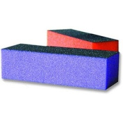 JUST FOR NAILS Medium/Coarse Sani Block Purple (Quantity:12pcs) (Model