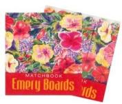 Hawaiian Matchbook Emery Boards 3 Pack Hibiscus Impressions