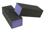 Purple Pedicure Block X-Coarse 60 Grit 8.3cm (4-Way) 12 Pack
