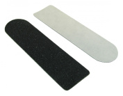 Disposable Pedi-Abrasive Stickers, 240 Grit, 2.5cm x 9.5cm 60 Pack