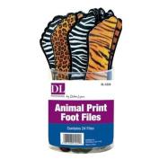 DL Professional Animal Print Foot Files