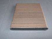 Premium emery boards - Black/Orange (100)