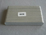 Standard emery boards - Brown (100)