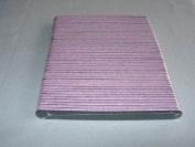 Premium emery boards - Black/Pink (100)