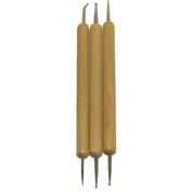 Wooden Dotting And Marbling Nail Art Tool Set